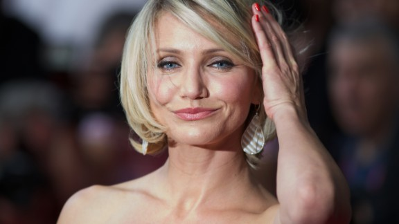 Sporty actress Cameron Diaz makes 40 look pretty fabulous.