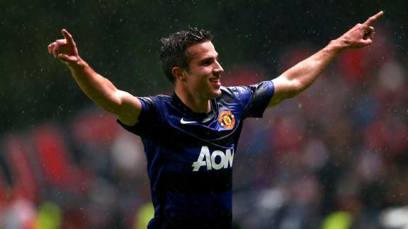 Robin van Persie was Manchester United