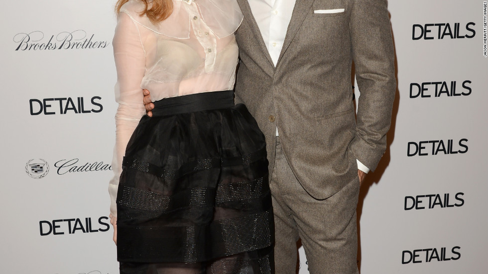 Kimberly and James Van Der Beek attend an event in West Hollywood.