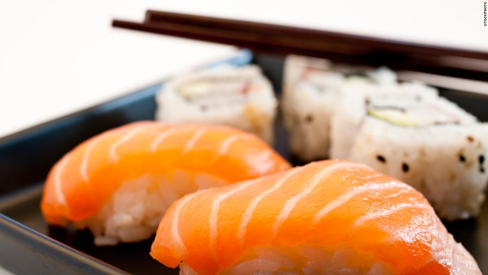 Diets on the southern Japanese Okinawa Islands contain large amounts of fish, whole grains, soy protein and vegetables.