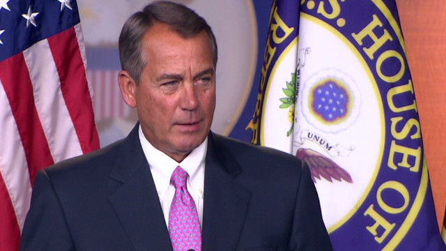 Boehner: 'There's a stalemate'
