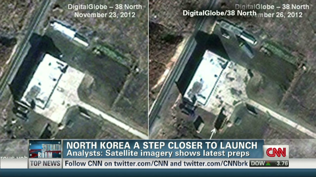 North Korea a step closer to launch