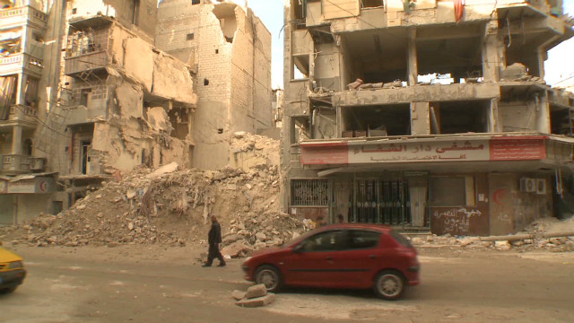 Syrians return to homes, but is it safe?