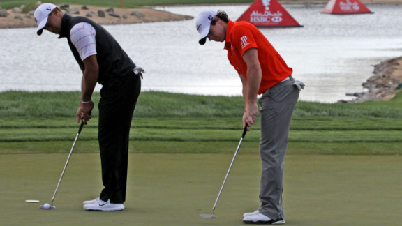 "Golf great Nick Faldo has questioned whether they should be so close. Sports psychologist Dan Abrahams says they would benefit from keeping a bit of distance. ""In the heat of battle it becomes more difficult to emotionally detach yourself from that person"