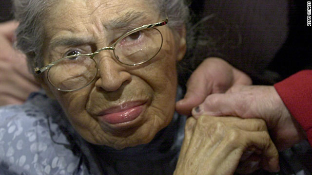 2005: Rosa Parks remembered