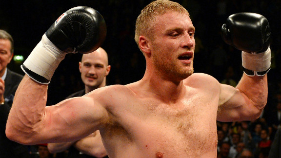 """Andrew """"Freddie"""" Flintoff made a winning start to his professional boxing career against American Richard Dawson."""