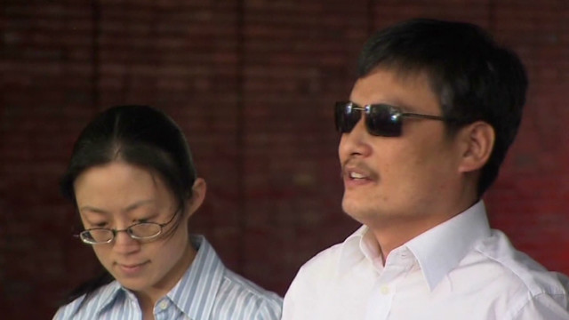 Chen Guangcheng: Nephew is 'scapegoat'