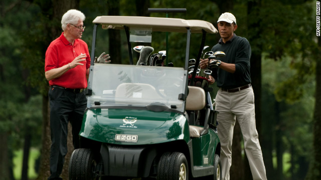 Why presidents love to play golf
