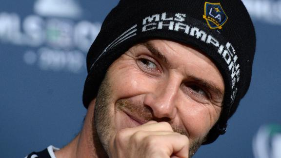 David Beckham ended his five-year stint in America