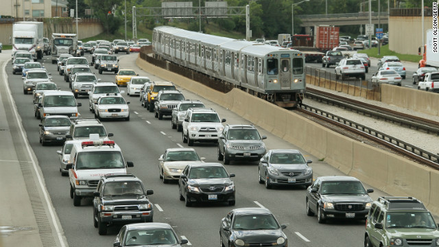 David Frum says a carbon tax would encourage smart growth, freeing more people from traffic jams.