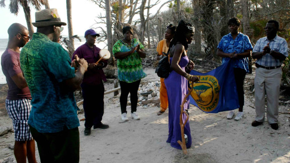 """""""The Gullah/Geechee nation is an extremely tightly knit community,"""" says Queen Quet."""