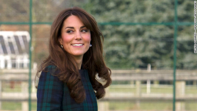 The Duchess of Cambridge takes part in a day of activities at St Andrew's School on November 30, 2012 in England.