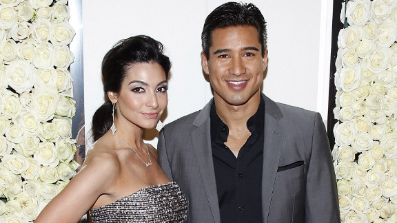 Mario Lopez surprised Courtney Mazza in 2012 with a New Year