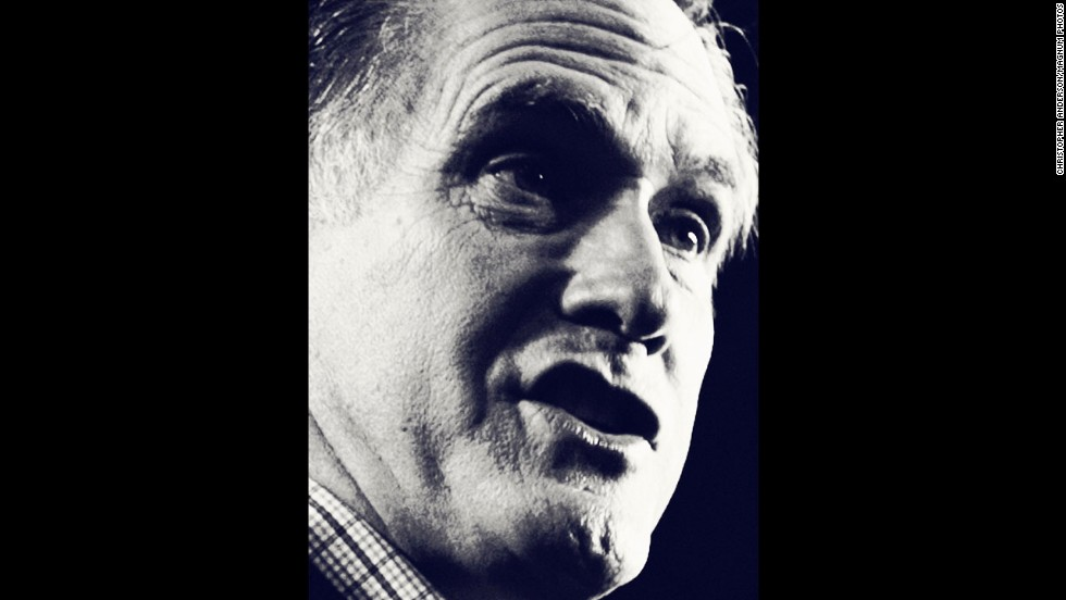 <strong>January 7:</strong> This portrait of Mitt Romney was made in New Hampshire shortly before its primary and appeared as part of an instantly classic photo essay by photographer Christopher Anderson for New York magazine.
