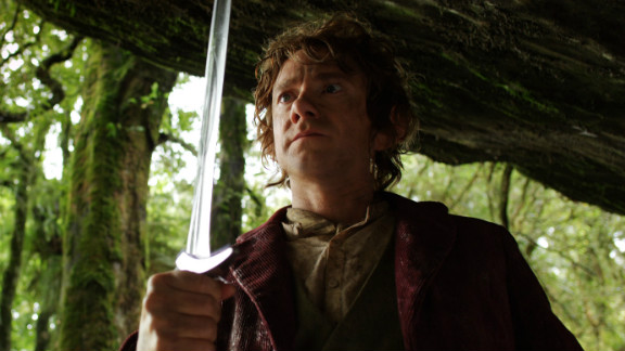 """""""The Hobbit"""" earned $13 million from midnight showings after its release on December 14."""