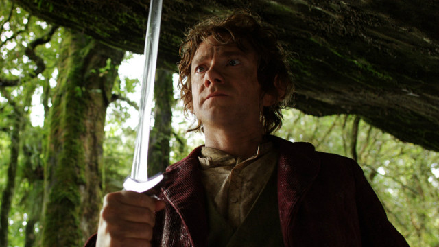 """The Hobbit"" earned $13 million from midnight showings after its release on December 14."