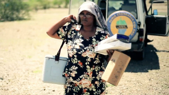 In Tanzania, nurse Neema Baynet Baynet can spend up to five days traveling in search of roaming Maasai tribes in need of vaccinations.