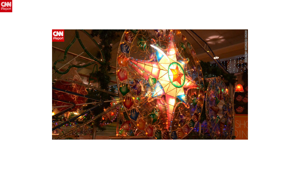 christmas lanterns known as parols light up many a - Christian Christmas Decorations