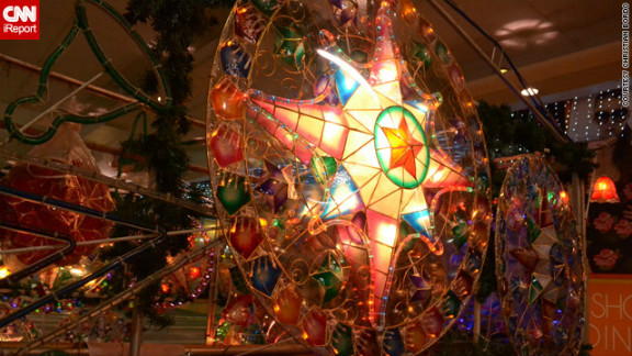 Christmas lanterns known as