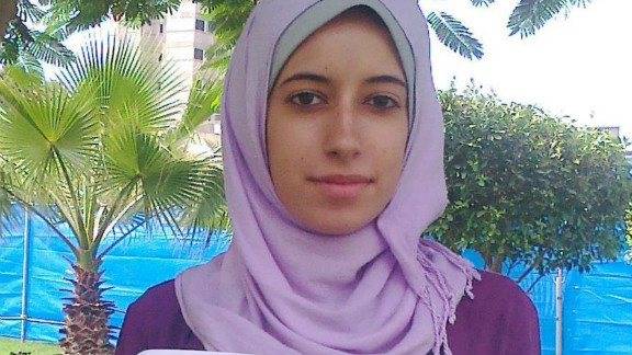 """""""I am with the uprising of women in the Arab world because I am just like you,"""" wrote Dalia, from Gaza."""