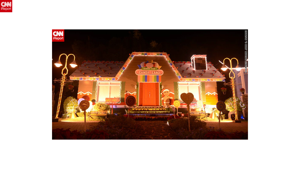 "Some displays are more common than others -- this <a href=""http://ireport.cnn.com/docs/DOC-888355"">unusual candy house display</a> in Binan City intrigued iReporter Pauline Alvarez.  ""You can't help but smile at the sight of this. Isn't that what Christmas is about?"" she said."