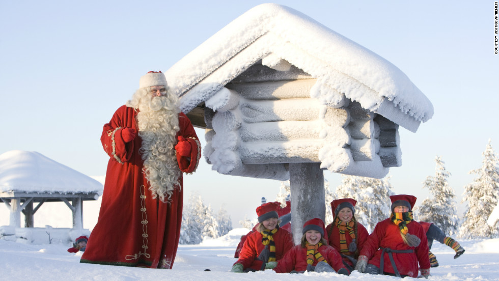 If meeting Santa is on your Christmas to-do-list then a trip to Rovaniemi in Finland is a must. The village in Lapland, located just north of the Arctic Circle, has become known as the Christmas HQ -- where kids and adults can make gingerbread cookies with Mrs. Claus or enroll in Elf School.