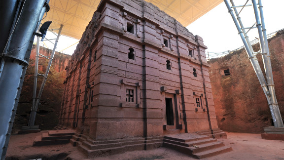 Dating as far back as the 12th century and carved out of striking red-color blocks of volcanic rock these churches, situated roughly 200 miles north of Addis Ababa, are a sacred place of pilgrimage for those wanting to celebrate the Coptic Christmas on January 7.