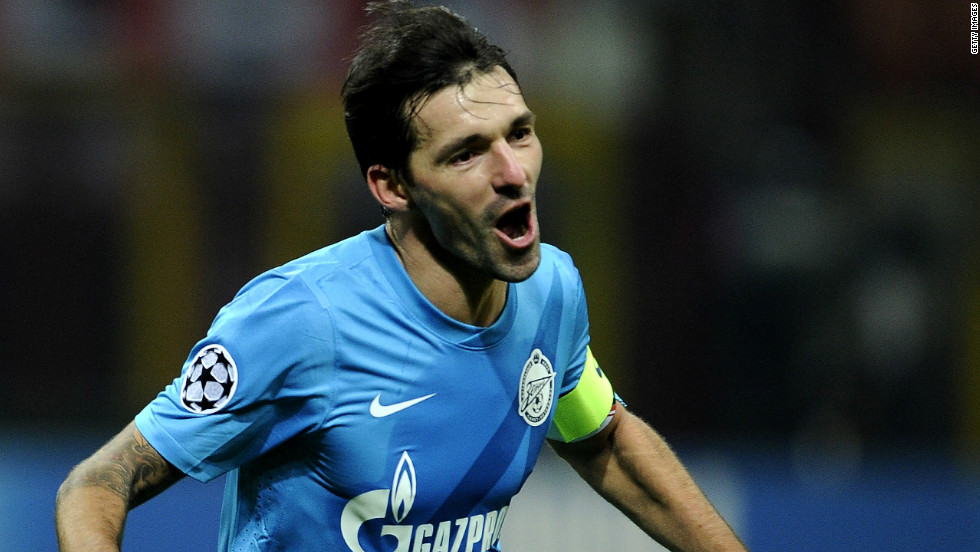 Zenit captain Danny stunned AC Milan by firing his side into the Europa League with a 1-0 win at the San Siro. Milan had already qualified for the last-16 of the Champions League after finishing second to Malaga.