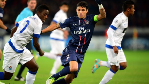 Paris Saint-Germain star Thiago Silva played a key role in his side