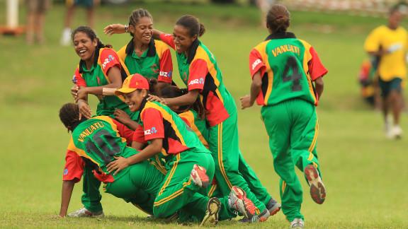 The Vanuatu women