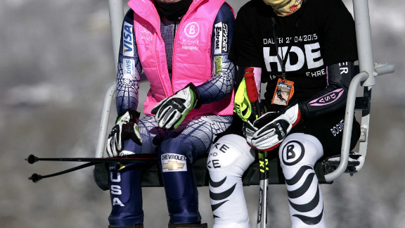 Vonn missed out on a fourth successive World Cup title to her good friend Maria Riesch by three points in 2011.