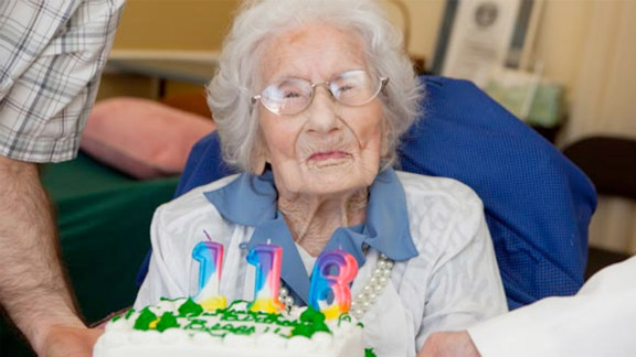 Besse Cooper of Monroe, Georgia, celebrates her 116th birthday. She was certified as the world