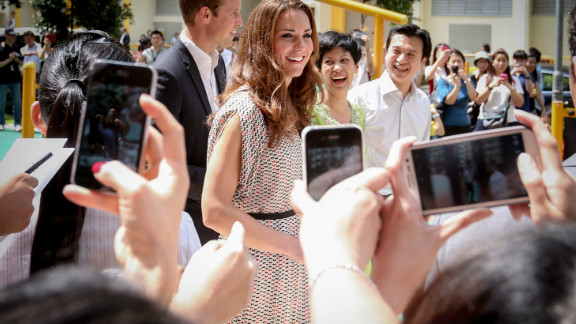 Catherine, Duchess of Cambridge on September 12, 2012 in Singapore.