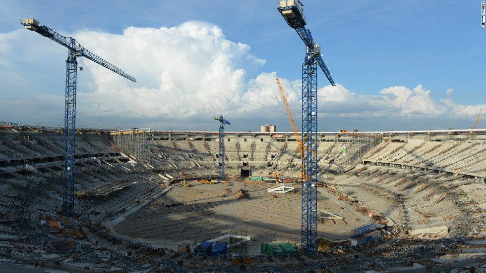 Rio's iconic Maracana Stadium is still undergoing renovation, but is expected to be ready for when Brazil's five-time world champions begin their defense of the Confederations Cup title next June.