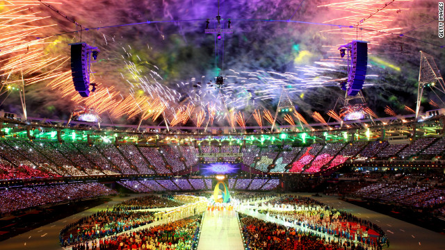 The Olympic Stadium in London was packed to the rafters during the 2012 Olympic and Paralympic Games.