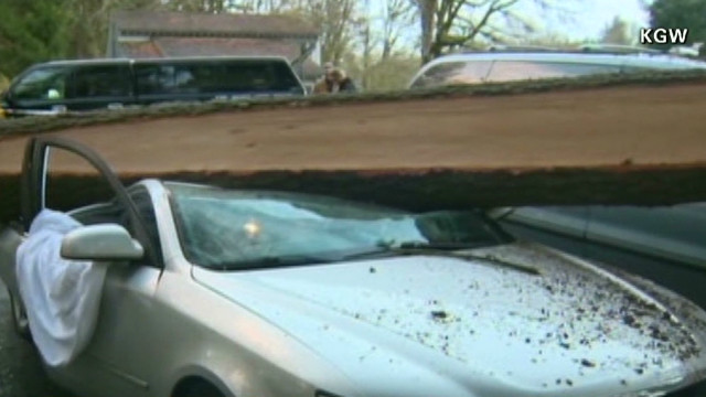 An Oregon Couple Shares Their Story After They Were Trapped In Car