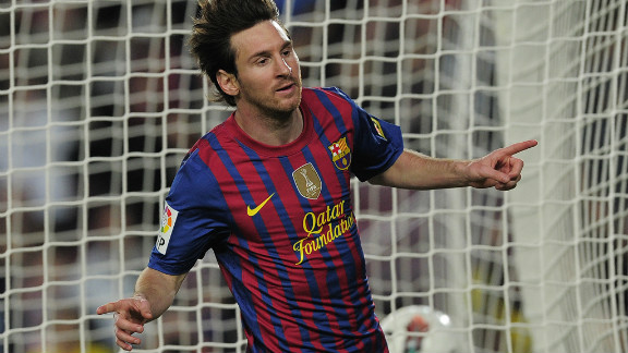 A hat-trick against Malaga in May took Messi to 68 goals for the 2011-12 season, edging him past the record for goals in a European season set by Bayern Munich
