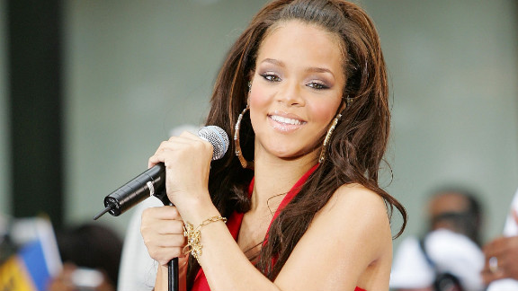 """The singer performs on NBC's """"Today"""" in New York City in July 2006."""