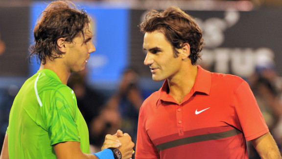 "Rafael Nadal, left, ended the tennis dominance of Roger Federer but they have publicly expressed their friendship despite reports of arguments about on-tour issues. ""As people get older they"