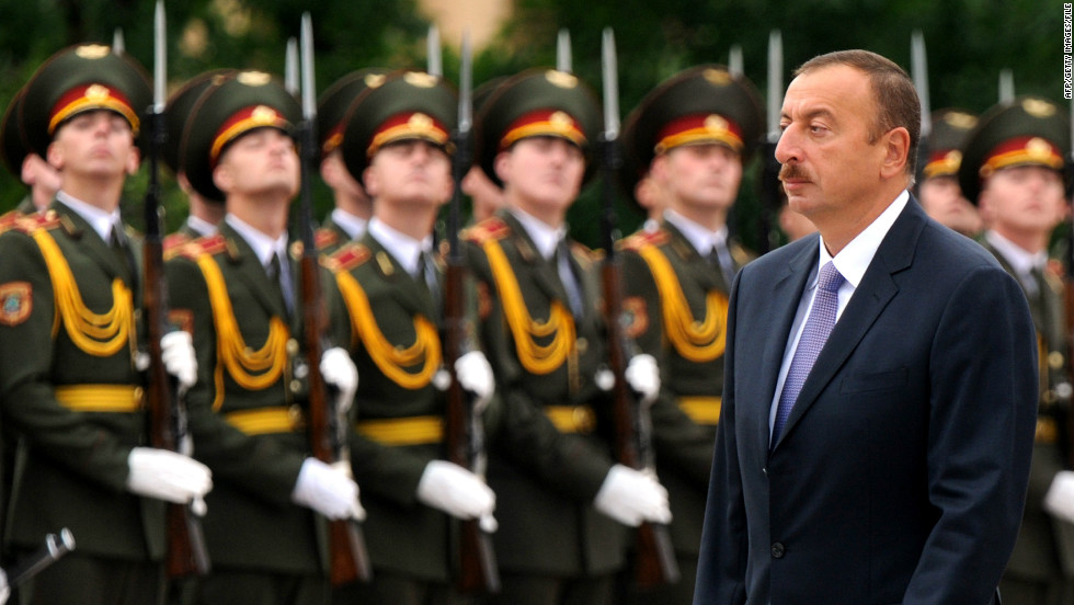 Azerbaijani President Ilham Aliev has been the country's leader since 2003.