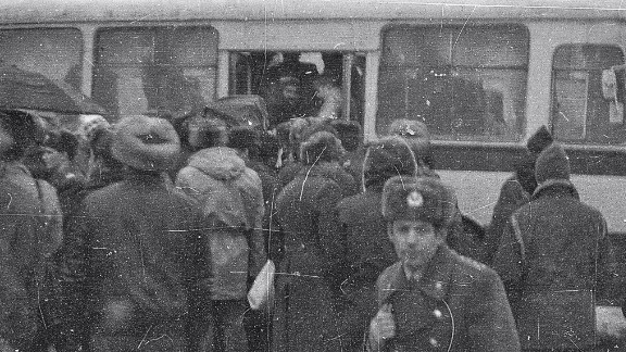 A mob of about 40 KGB agents and police officers awaited the Furmans. The family was shoved onto a bus and taken to prison, where even Aliyah would spend time in her own cell.