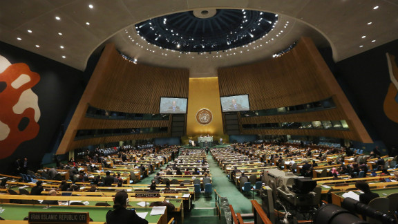 The U.N. General Assembly is considering a resolution that would help remove barriers to businesses, says Beverly Schwartz.