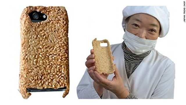For only $81, the crunchy goodness of the Survival Senbei Rice Cracker iPhone 5 Case could be yours.