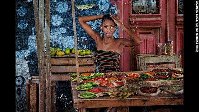 2013: Photographed by Steve McCurry in Rio de Janeiro