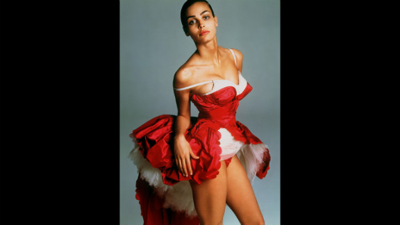 1997: Photographed by Richard Avedon in New York