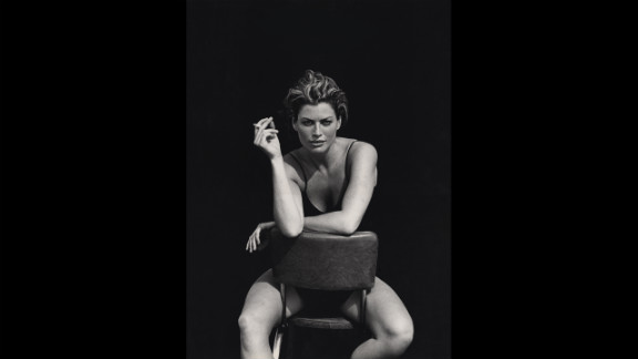 1996: Photographed by Peter Lindbergh in El Mirage, California