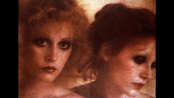 1972: Photographed by Sarah Moon in Villa Les Tilleuls, Paris