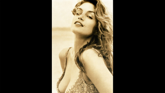 1994: Photographed by Herb Ritts in Paradise Island, Bahamas