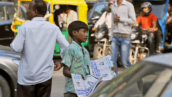 The paradox of modern India is that while the middle classes have enjoyed prosperity as a result of India's fast growing economy, the majority of the population have been left out.