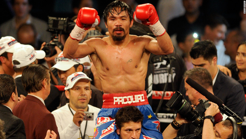 Pacquiao was awarded another points win, a decision greeted by boos from the Las Vegas crowd.